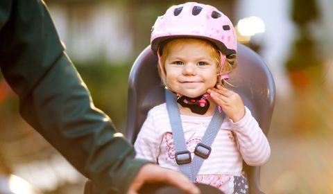 Rappel d'un siège bébé pour vélo Décathlon