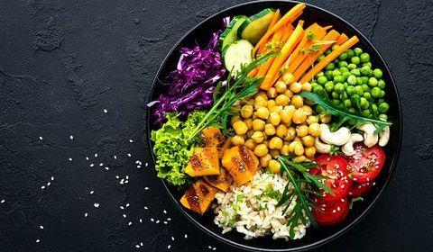 régime végétarien équilibré