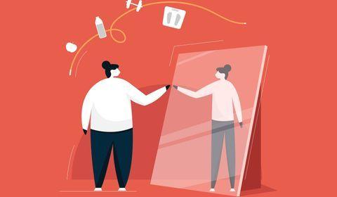 Grosse perte de poids : l'impact psy