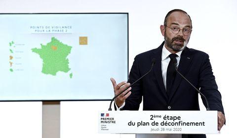 Phase 2 du déconfinement : les annonces d'Edouard Philippe