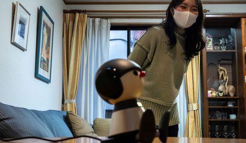 Au Japon, des robots compagnons offrent du réconfort pendant la pandémie