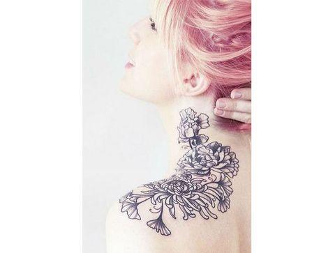 20 tatouages fleuris repérés sur Pinterest