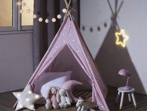 Le tipi phosphorescent Atmosphera for kids -  Sélection de tipis pour la chambre des bébés et des enfants