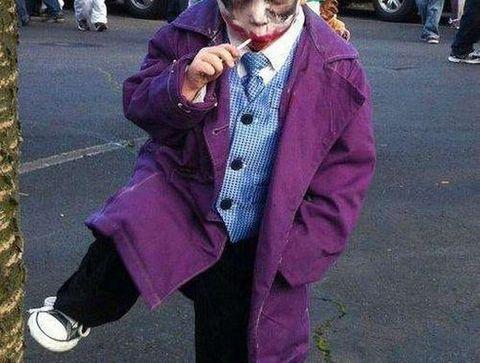 Déguisement du Joker dans Batman - Halloween : 30 idées de déguisement pour enfant