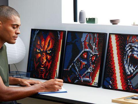 LEGO ART, Star wars, The Sith -  Noël 2020 : idées de cadeaux pour adolescents