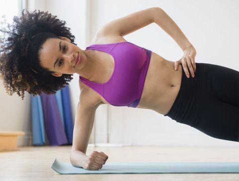 Planche latérale  -  Les 10 meilleurs exercices de gainage