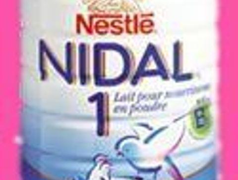 Nestlé Nidal   Pour renforcer les défenses de bébé - Les laits pour bébé au banc d'essai