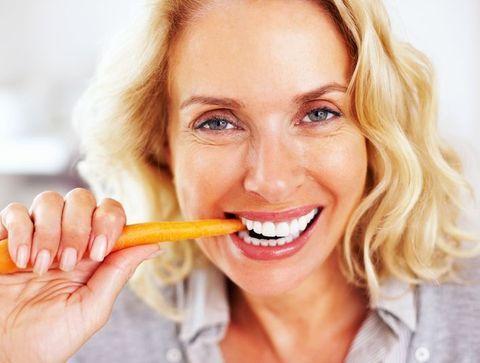 Les carottes et les poivrons - Les aliments qui aident à renforcer les dents