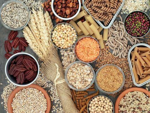 Fibres alimentaires solubles ou insolubles