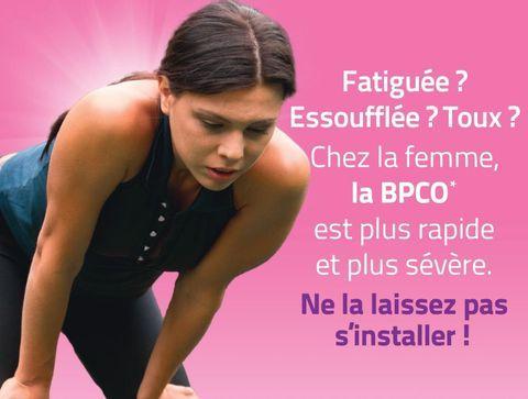 BPCO: Gardez votre féminité, préservez vos poumons!