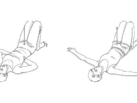 La Bascule Du Bassin Exercices Pour Soulager Les Douleurs Lombaires Doctissimo Exercices Pour Soulager Vos Douleurs Lombaires