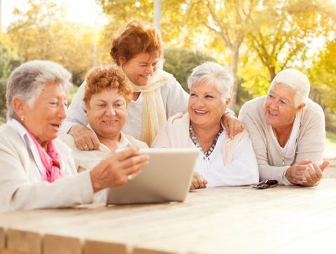 Les seniors et les objets connectés