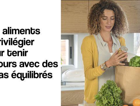 Confinement : les aliments à privilégier pour tenir 10 jours