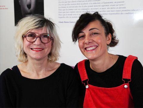 Louise et Clémentine, animatrices à La Maison des femmes