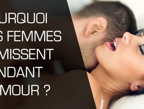 Pourquoi les femmes gémissent pendant l'amour ?