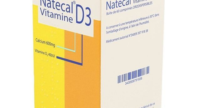 NATECAL VITAMINE D3