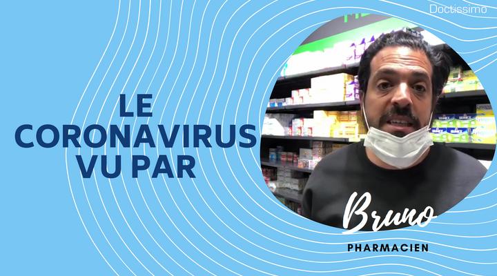 Le coronavirus vu par… Bruno, pharmacien