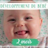 Développement de bébé : le 2e mois