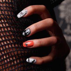 Les 30 plus beaux nail art Halloween repérés sur Pinterest