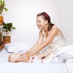 Les massages pour bébés