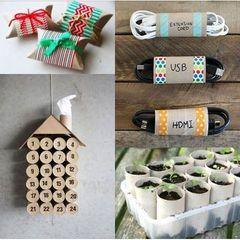 DIY : 25 idées repérées sur Pinterest pour recycler vos rouleaux de papier toilette