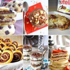 20 recettes gourmandes au Nutella