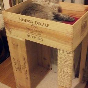 Arbre à chat DIY