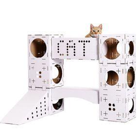 Une maison de jeu pour chat