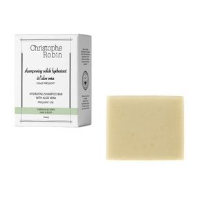 Shampooing solide hydratant à l'aloe vera, Christophe Robin