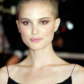 Natalie Portman, cheveux rasés