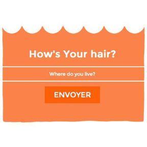 Pour accorder vos cheveux à la météo : How's your hair