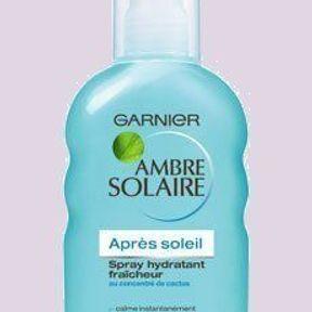 Garnier : sensation fraîcheur