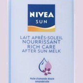 Nivea : sensation légère