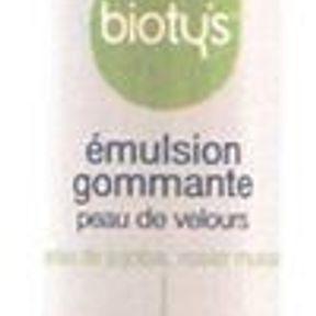 Emulsion gommante, Bioty's