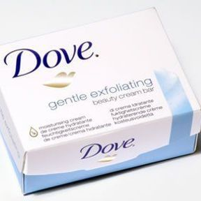 Pain exfoliant, Dove