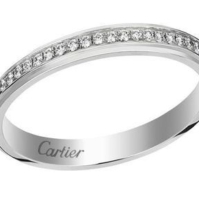 Alliance or blanc Cartier