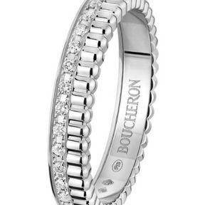 Alliance or blanc diamant Boucheron 2014