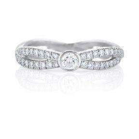 Alliance or blanc diamant De Beers 2014