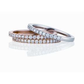 Alliances de mariage femme De Beers 2014