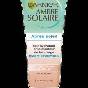 Garnier : l'après-soleil composé d'agent auto-bronzant