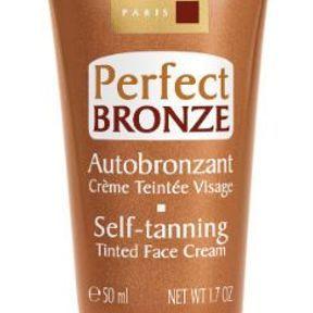 Autobronzant Crème Teintée visage Perfect Bronze de Mary Cohr