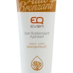 La crème autobronzante d'EQ EVOA