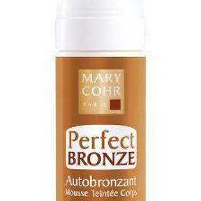 La mousse teintée autobronzante de Mary Cohr