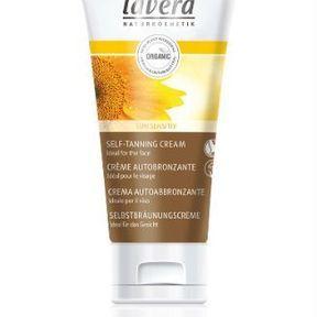 Crème autobronzante visage de Lavera