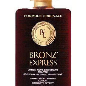 Lotion autobronzante teintée intense de Bronz'Express