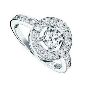 Bague de fiançaille diamant Boucheron 2014