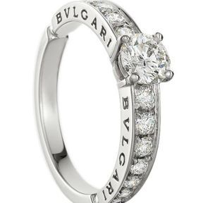 Bague de fiançaille diamant Bulgari 2014