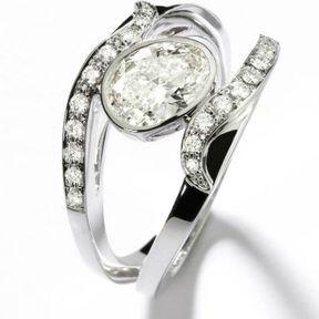 Bague de fiançaille diamant Mellerio dits Meller 2014