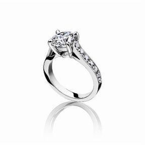Bague de fiançaille diamant Piaget 2014