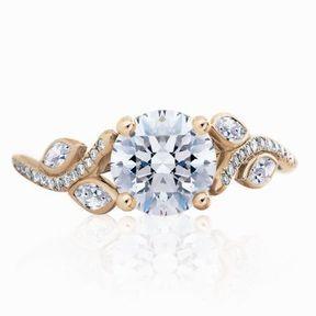 Bague de fiançaille en diamant De Beers 2014